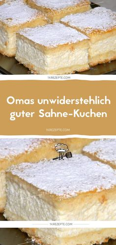 Omas unwiderstehlich guter Sahne-Kuchen Grandma's irresistibly good cream cake – recipes Related posts: Brown gingerbread to Grandma's original recipe Cake in the ice cream cone Fantasy cake with raspberry cream Cream cake – everyday tricks Easy No Bake Cheesecake, Classic Cheesecake, Cheesecake Recipes, Dessert Simple, Dessert Cake Recipes, Easy Desserts, Yummy Snacks, Snack Recipes, Cake Tasting