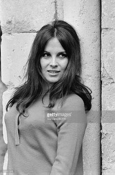 Italian Actress Antonella Lualdi In France, In May 1968 .
