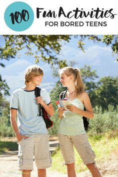 Check out these Fun Activities for a Bored Teen. Boredom busters to keep your kids busy all summer and beyond that don't involve a screen! Teen Boy Activities, Group Activities For Teens, Outdoor Summer Activities, Fun Activities To Do, Summer Boredom, Teen Fun, Boredom Busters, Teenager, Business For Kids