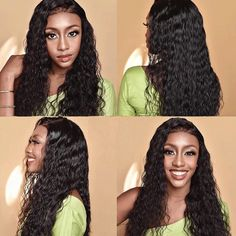Arabella-Experienced More Than 10 Years in Human Hair Field. Shop Here For Water Wave 360 Lace Frontal Wig To Bloom Your Beauty!Human Hair Wigs. 360 Lace Wigs .Lace Front Wig.Lace Wigs.Lace Frontal Wig.Water Wave Wigs.Shipping Free. >>>Order Now!UP TO 50%OFF. 360 Frontal Wig, Lace Frontal, Curly Lace Front Wigs, Lace Wigs, Front Lace, Indian Hairstyles, Weave Hairstyles, 100 Human Hair, Human Hair Wigs