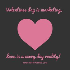 Make your Valentine's Day social media posts with Pub'hed. #valentinesday #visualmarketing #socialmedia