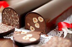 Torrone dei morti | La ricetta che Vale Mini Desserts, Chocolate Desserts, Chocolate Cake, Dessert Recipes, Chicken Nuggets, Italian Cake, Chocolate Lovers, Christmas Baking, No Bake Cake