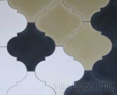 Morrocan Arabesque Shaped Colonial Tiles from Villa Lagoon Tile. Available in 60 colors.