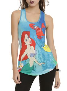 Disney The Little Mermaid Ariel & Friends Girls Tank Top | Hot Topic