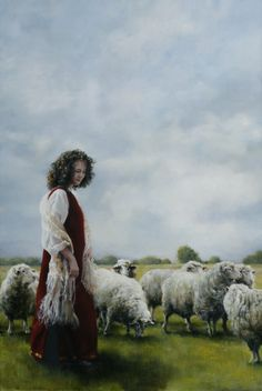 With Her Fathers Sheep (Rachel) by Elspeth C. Young - Copyright: All Rights Reserved - 2008