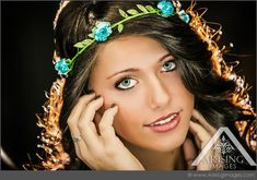 Creative senior pictures in Michigan. So pretty! #arisingimages #seniorpics #seniors #photoshoot #portrait #girl