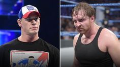 Is the WWE Universe rooting for John Cena or Dean Ambrose?