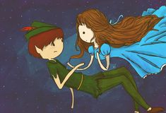 Peter Pan and Wendy fan art