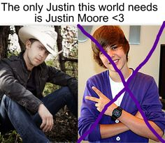 Justin Moore <3