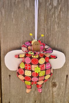 Sweet Bug  Tilda Soft Toy  Nursery Decor  by GiachettiHandMade