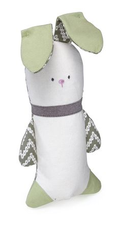 Kathy Ireland Crinkle Bunny Toy