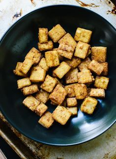 Let's talk about tofu. Even as a vegetarian, I don't eat a ton of it. When I do, however, I want it crispy, and crispy tofu is an elusive beast. I've shared this method here and here, but I've perfect