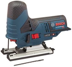 Bosch Max Cordless Jig Saw with Exact-Fit Insert Tray *** You can get additional details at the image link. (This is an affiliate link) Circular Saw Reviews, Best Circular Saw, Best Jigsaw, V Max, Popular Mechanics, Woodworking Tips, Carpentry, Diecast, Outdoor Power Equipment