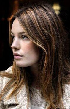 Great hair color. #Hair #Beauty #Brunette Visit Beauty.com for more.