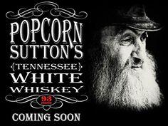 Popcorn Sutton. Tennessee.