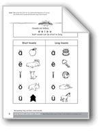 Vowels: Recognizing Long & Short Vowel Sounds. Download it at Examville.com - The Education Marketplace. #scholastic #kidsbooks @Karen Echols #teachers #teaching #elementaryschools #teachercreated #ebooks #books #education #classrooms #commoncore #examville