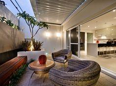 The Luna - Alfresco Outdoor Settings, Backyard Design, Outdoor Decor, Carport Makeover, Backyard Landscaping Designs, Alfresco Area, Beautiful Houses Interior, Home Landscaping, Alfresco Designs