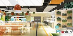Autoservire 2 – proiect de design interior in stil modern - Studio inSIGN Restaurants, Loft, Interior Design, Studio, Modern, Projects, Fun, Furniture, Home Decor
