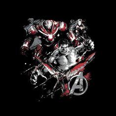 d2f5406d67c78 Marvel Avengers Infinity War Hulk Falcon War Machine Montage Men s T-Shirt