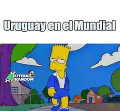 Los mejores memes de Uruguay-Rusia - Twitter Health Quotes, Bart Simpson, Youtube, Family Guy, Make It Yourself, Anime, Fictional Characters, Twitter, Gifs