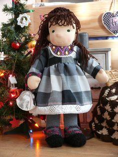 lalka waldorfska, lalka szmaciana, waldorf doll