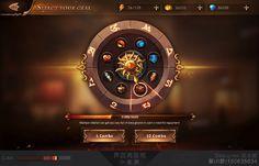 虚拟项目 glory 韩风手游UI尝试:...