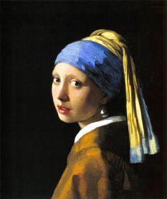 La joven de la perla, de Johannes Vermeer van Delft