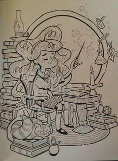 Hermione Granger by Jonathan Reincke for @Sketch_Dailies