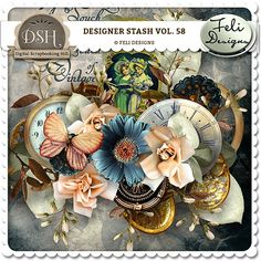 Designer Stash Vol. 58 (CU) by Feli Designs - $5.24 : Digital Scrapbooking Hill   DSH - commercial and personal use site