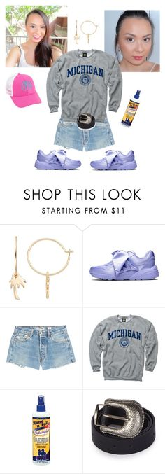 """Untitled #1254"" by mledoll ❤ liked on Polyvore featuring LC Lauren Conrad, Puma, RE/DONE, New Agenda, Mane 'n Tail and Topshop"