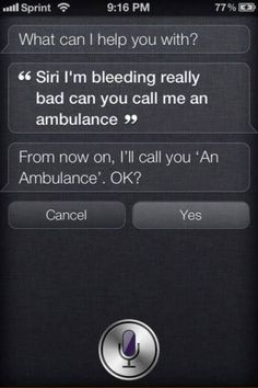 Funny Siri Moments