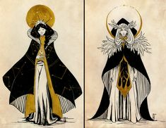 Varda and Manwe by AriyaLothiriell