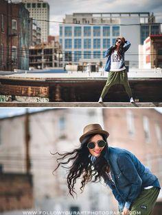 Awesome city photoshoot