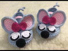 Crochet Owl Purse, Crochet Baby Boots, Crochet Shoes, Knit Crochet, Baby Booties, Baby Shoes, Henna Art Designs, Knitting Designs, Baby Accessories