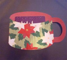 Craft Room Basics...Project Center - Coffee Mug Gift Card