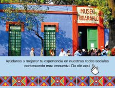 Wander around Frida Kahlo's house and admire her art collection (Mexico City)