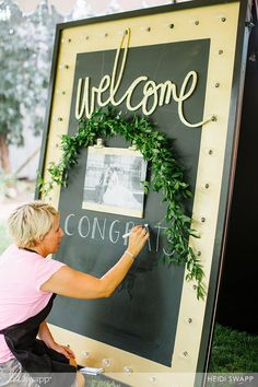 I have always wanted to be a wedding planner! Here is the wedding reception I helped decorate! I am sharing some of my favorite ideas for making ANY event unforgettable! @heidiswapp