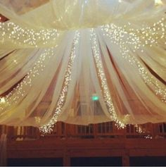 Wedding decors with lights