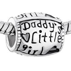 "I want this soo bad! ""Daddy's Little Girl"" - #PandoraBraceletCharm"