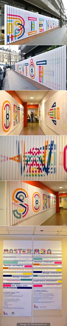 Gorgeous colors and typography