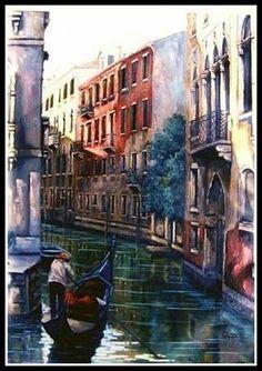 Venice 2 by artist Constantin Paunescu