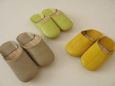 Indoor Moroccan slippers - babouche