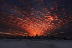 Winter sunset 2 by Costin Urse on 500px