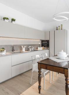 Kitchen Interior, Modern Interior, Interior Design, Kitchen On A Budget, Modern Kitchen Design, Cool Rooms, Living Room Designs, Kitchen Remodel, Sweet Home