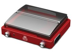 The Stylo Record Player in red finish is the perfect gift for a loved one who has an old record collection. Features two built in high quality speakers! Retro Record Player, Turntable Record Player, Record Players, Old School Phone, High Quality Speakers, Speaker Amplifier, Retro Phone, Record Collection, Vinyl Records