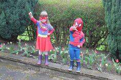 Supergirl Costume : Sunny Stitching