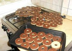 Dessert Cake Recipes, Griddle Pan, Waffles, Breakfast Recipes, Food And Drink, Sweets, Cookies, Baking, Felt