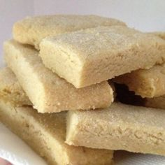 Traditional Rich Scottish Shortbread Biscuits - Cookies Recipe - Needs salt if using unsalted butter
