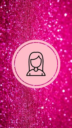 Pink Instagram, Instagram Blog, Blonde Hair Girl, Insta Icon, Maria Jose, Highlighters, Instagram Highlight Icons, Pink Glitter, Suzy