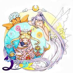 Princess Serena & Queen Serenity